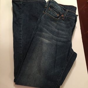 Lucky Brand Dungarees rider fit relaxed. Size 29